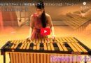 『つながろうアート♪』打楽器奏者 野崎智美さんの奏でるヴィブラフォン